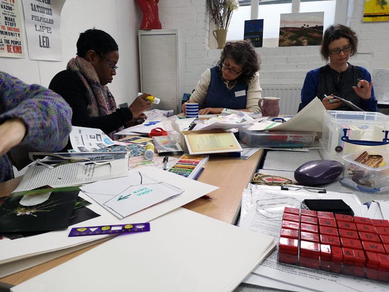 My Next Chapter for Creatives, Artpocket Studios, Norwich